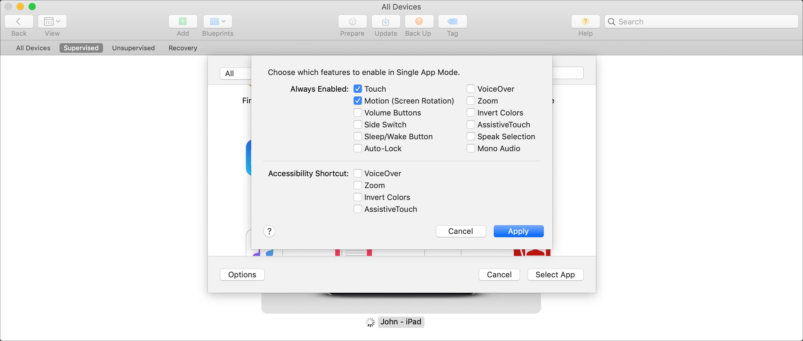 New kiosk mode for iPads – Single App Mode | MeetingRoomApp