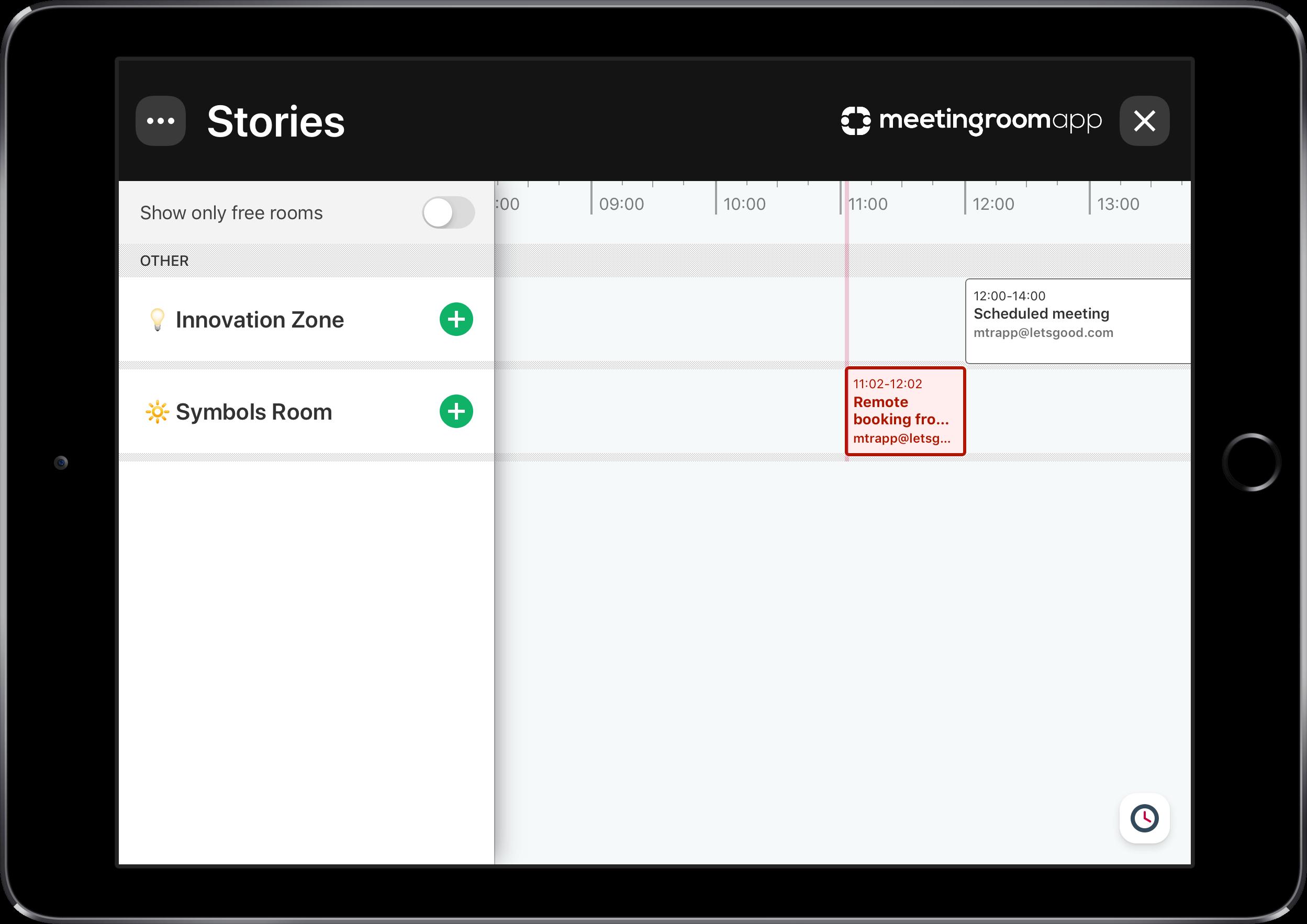 Software de reservas para las salas de reuniones