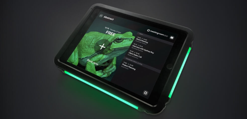 Neuheit: Die iPad-Halterung mit LED-Dioden ist da